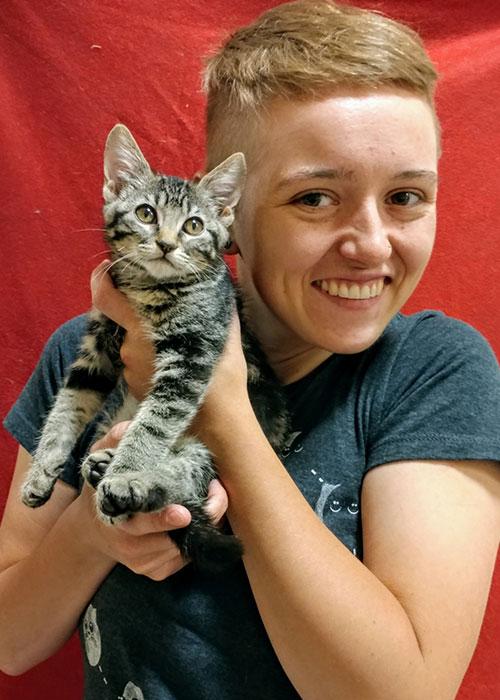 Homeward Bound Cats Volunteer